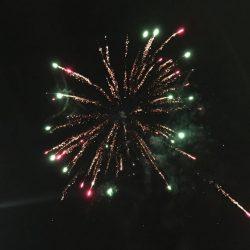 Feuerwerk zum neuen Jahr